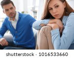 young couple waiting for... | Shutterstock . vector #1016533660