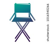 movie director chair equipment... | Shutterstock .eps vector #1016540266