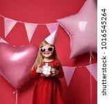 three years girl toddler kid... | Shutterstock . vector #1016545264