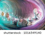 the way making or creating... | Shutterstock . vector #1016549140