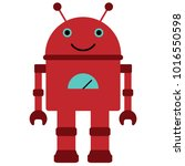 vector illustration of a toy... | Shutterstock .eps vector #1016550598