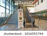milan malpensa  italy   circa... | Shutterstock . vector #1016551744