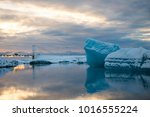 Jokulsarlon Glacier Lagoon At...