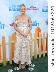 margot robbie at the los... | Shutterstock . vector #1016567224