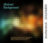 Abstract Mosaic Vintage And...