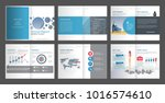 annual report for company... | Shutterstock .eps vector #1016574610