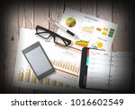 image of business and... | Shutterstock . vector #1016602549