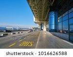 milan malpensa  italy   circa... | Shutterstock . vector #1016626588