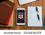 learning english concept.... | Shutterstock . vector #1016636359