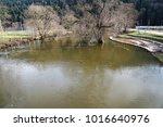 danube river flute in... | Shutterstock . vector #1016640976