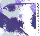 splash brush strokes watercolor ... | Shutterstock .eps vector #1016666548