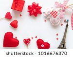 valentine day background | Shutterstock . vector #1016676370