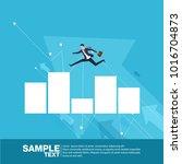 future business leader concept...   Shutterstock .eps vector #1016704873