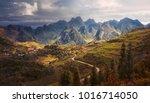 beautiful karst plateau dong... | Shutterstock . vector #1016714050