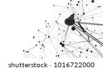 concept of network or internet... | Shutterstock . vector #1016722000