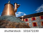 Whiskey Distillery Old Copper...