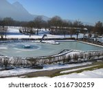winter holiday view. marzoll... | Shutterstock . vector #1016730259