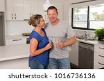 young beautiful couple 30s or...   Shutterstock . vector #1016736136