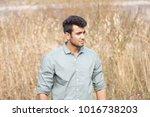 handsome  good looking ... | Shutterstock . vector #1016738203