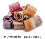 isolated sweet pureed fruit... | Shutterstock . vector #1016740513