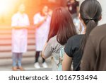group of class of school... | Shutterstock . vector #1016753494