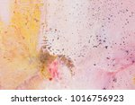 hand made abstract painting ... | Shutterstock . vector #1016756923