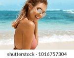 summer lifestyle concept.... | Shutterstock . vector #1016757304