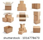 collection of  various... | Shutterstock . vector #1016778673