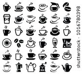 coffee icon collection   vector ...