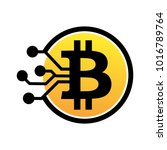 crypto currency logo | Shutterstock .eps vector #1016789764