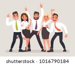 successful business team. a... | Shutterstock .eps vector #1016790184