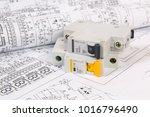 electrical engineering drawings ... | Shutterstock . vector #1016796490