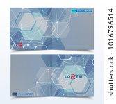 scientific templates square... | Shutterstock .eps vector #1016796514