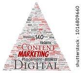 concept or conceptual digital...   Shutterstock . vector #1016809660