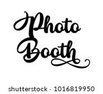 typography wedding word art... | Shutterstock .eps vector #1016819950