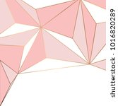 golden geometric lines  modern...   Shutterstock .eps vector #1016820289