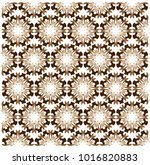 brown orchid pattern | Shutterstock .eps vector #1016820883