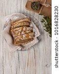 whole grain bread | Shutterstock . vector #1016828230