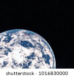 3d rendering world globe from... | Shutterstock . vector #1016830000