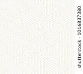 vector seamless subtle stripes... | Shutterstock .eps vector #1016837380