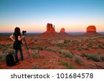 Monument Valley With Nice...