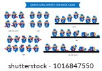 simple man sprites for your own ... | Shutterstock .eps vector #1016847550