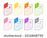infographic design business... | Shutterstock .eps vector #1016848750