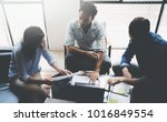 teamwork people concept.young...   Shutterstock . vector #1016849554