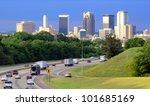 skyline of birmingham  alabama... | Shutterstock . vector #101685169