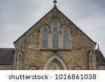 catholic church in rural...   Shutterstock . vector #1016861038