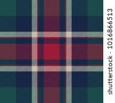 check plaid diagonal fabric... | Shutterstock .eps vector #1016866513