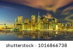 a magnificent view of the... | Shutterstock . vector #1016866738