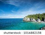 beautiful landscape in... | Shutterstock . vector #1016882158