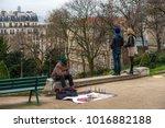paris  france   january 02 ... | Shutterstock . vector #1016882188